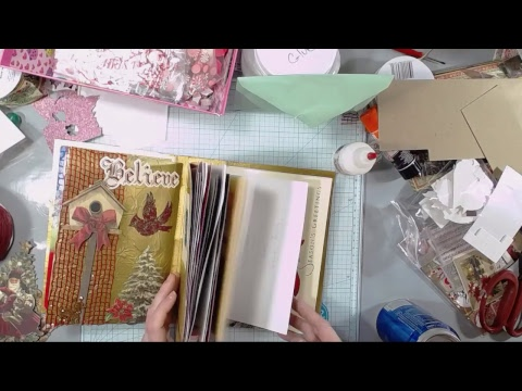 Saturday Night Live Crafty Stream - Ornaments and Junk Journals, Oh My!