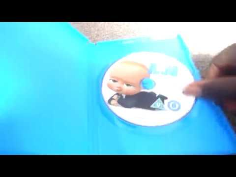 The Boss Baby Uk Dvd Unboxing Youtube
