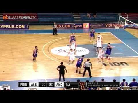 FIBA U16 | ALBANIA v ANDORRA | GAME 4 | 21/07/16