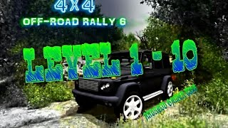 4x4 Off-Road Rally 6 - Level 1 - 10 - HD Android Gameplay - Off-road games - Full HD Video (1080p)