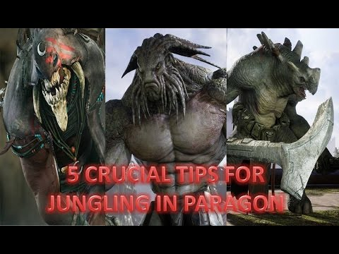 Top 5 Tips for Jungling in Paragon & Gameplay