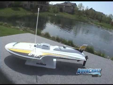 Spotlight: AquaCraft Mini Thunder Round Nose Hydroplane RTR