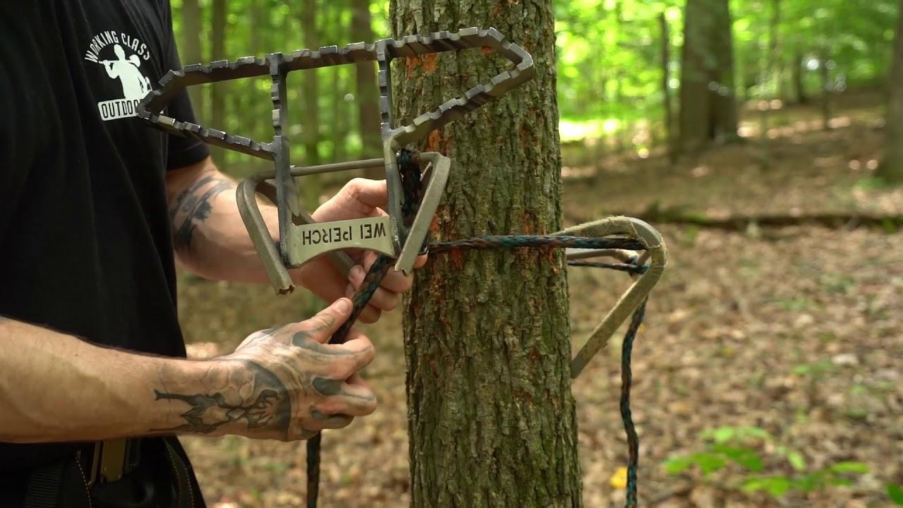 Saddle Hunting Step And Platform Setup And Cam Over Youtube