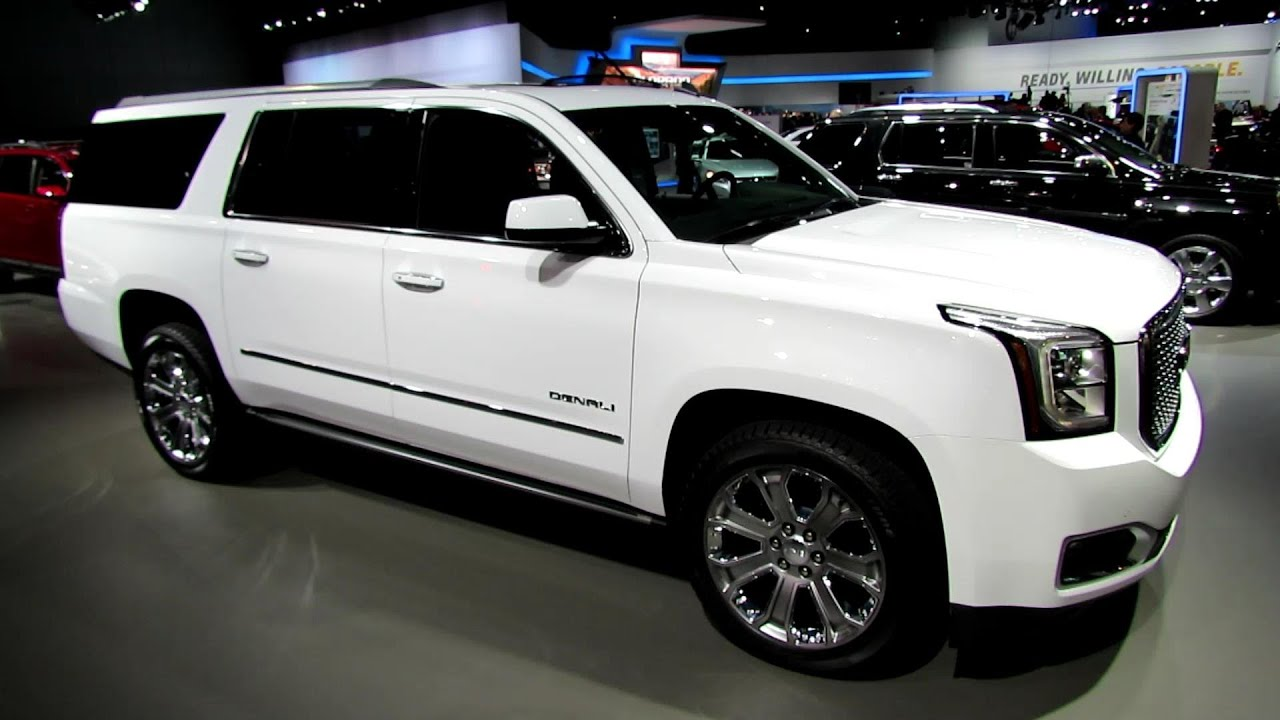 2015 Gmc Yukon Xl Denali Exterior And Interior