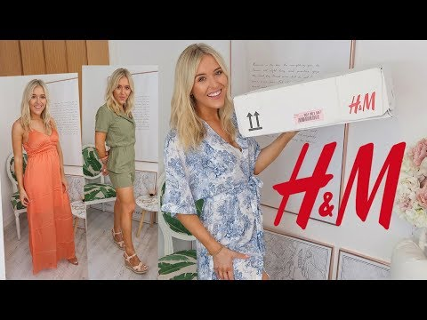 H&M TRY ON HAUL | SUMMER STYLE 2019
