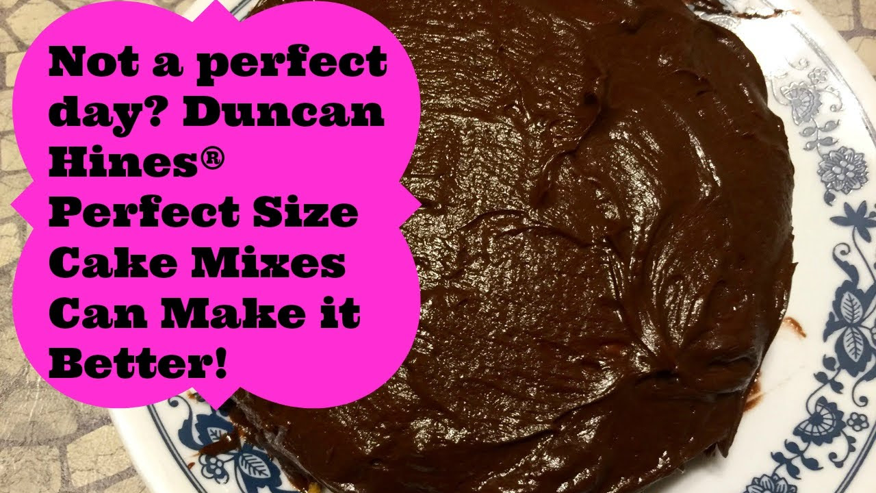 Duncan Hines Perfect Size Cake Mix Makes Any Day Better
