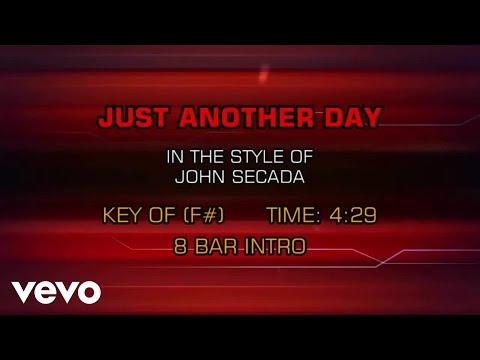 Jon Secada - Just Another Day (Karaoke)