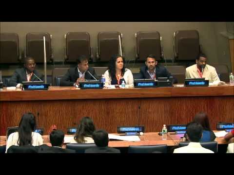 Youth & Civic Tech: 2015 Summer Youth Assembly at the United Nations