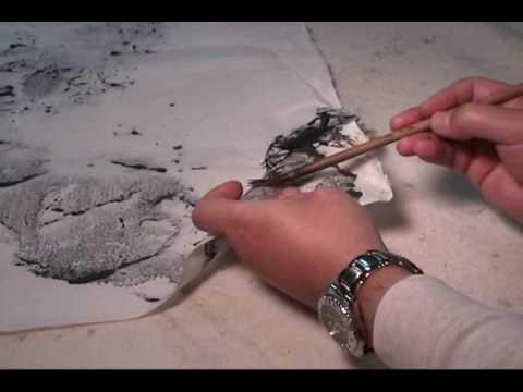 Special Techniques in Sumi and Watercor Landscape(3)