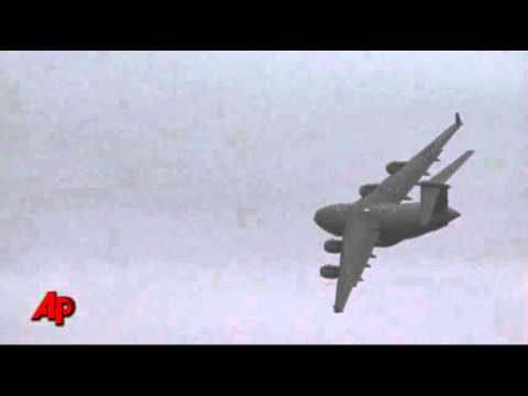 Raw Video: Military Releases C-17 Crash Footage