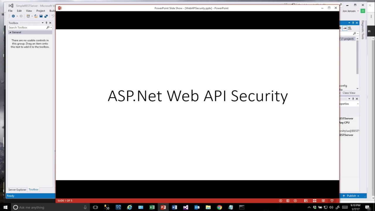 Securing ASP Net WebAPI REST Services using an API Key and MessageHandlers