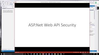 Securing ASP.Net WebAPI REST Services using an API Key and MessageHandlers