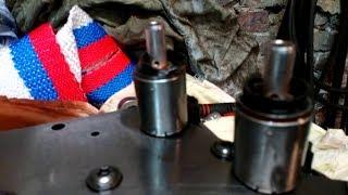 Рено Меган II Замена электромагнитных клапанов
