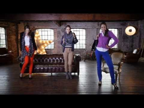 M&S Jeans Guide - How to Wear the Coloured Jegging - Marks & Spencer 2012