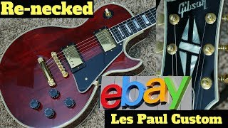 The Most Bizarre Mystery Guitar! | eBay Buy Gone Wrong... | Renecked Gibson Les Paul Custom