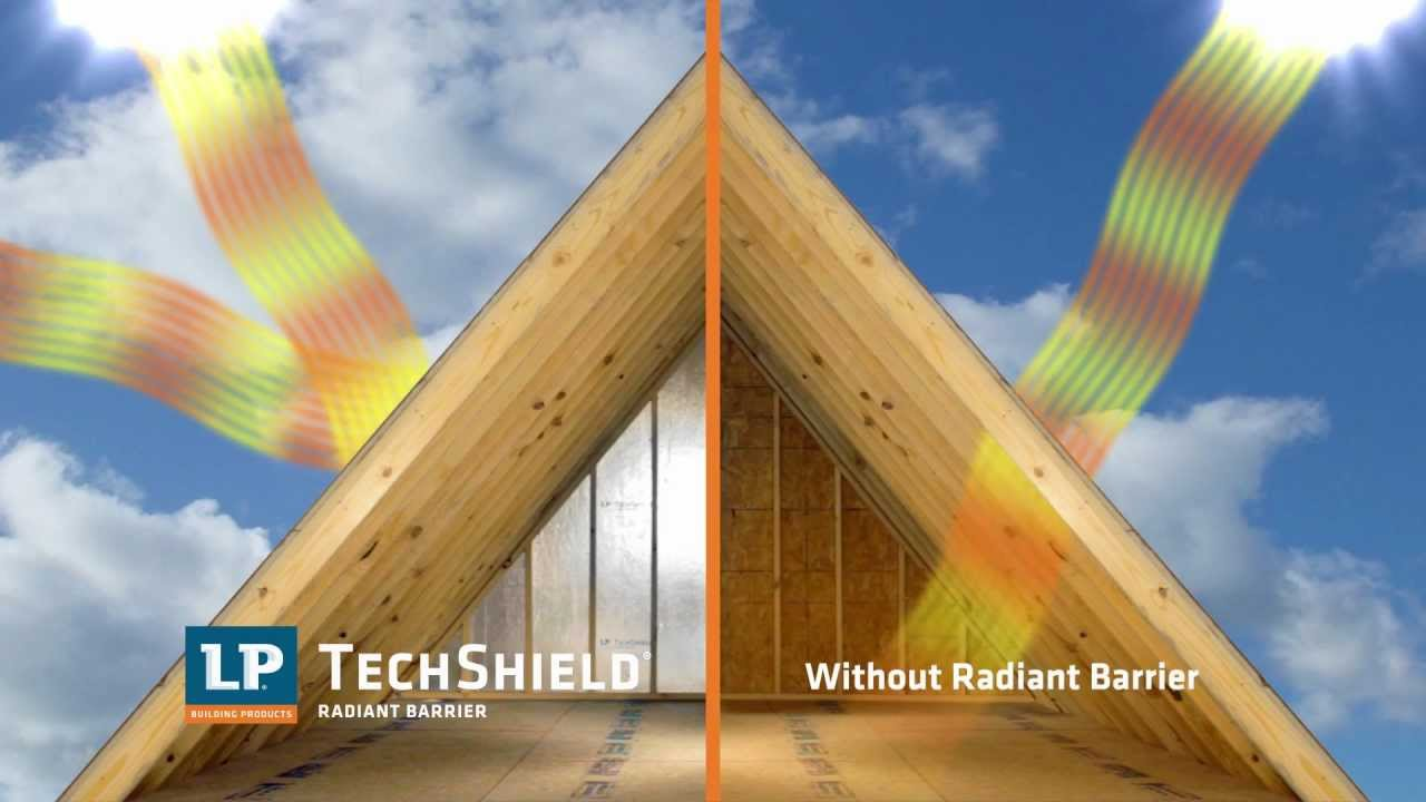 Lp 174 Techshield 174 Radiant Barrier Youtube