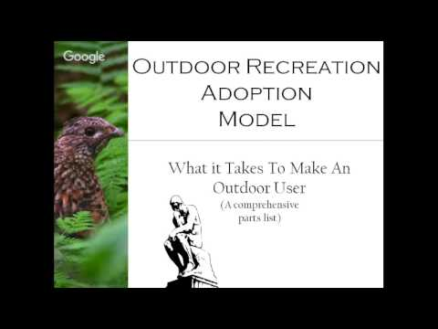 Overview of the Outdoor Recreation Adoption Model