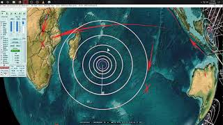 10/22/2018 -- Large Series of Earthquakes strikes Pacific Northwest USA -- M6.8 , M6.6, M6.2