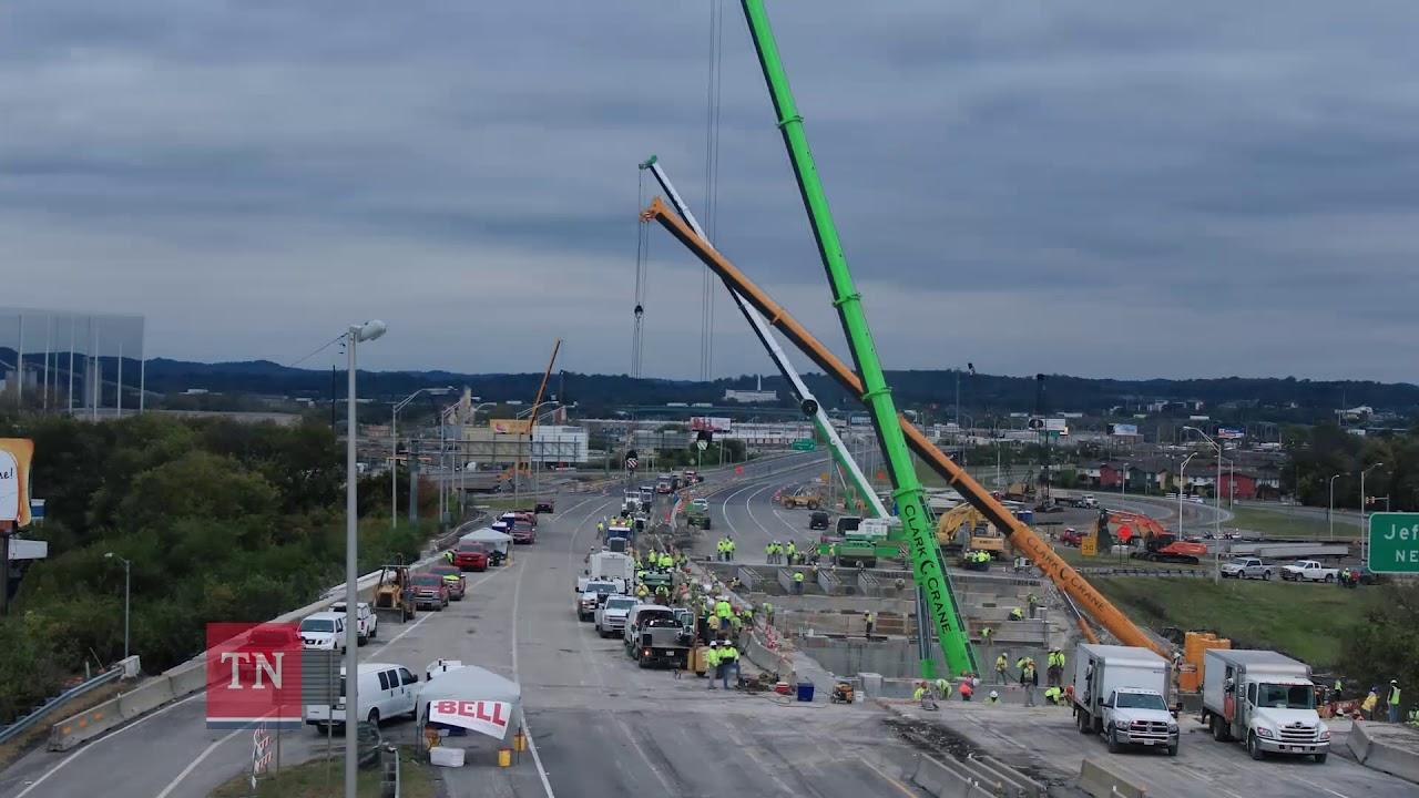 I-24 Bridge Replacement - Westbound Oldham Street Bridge