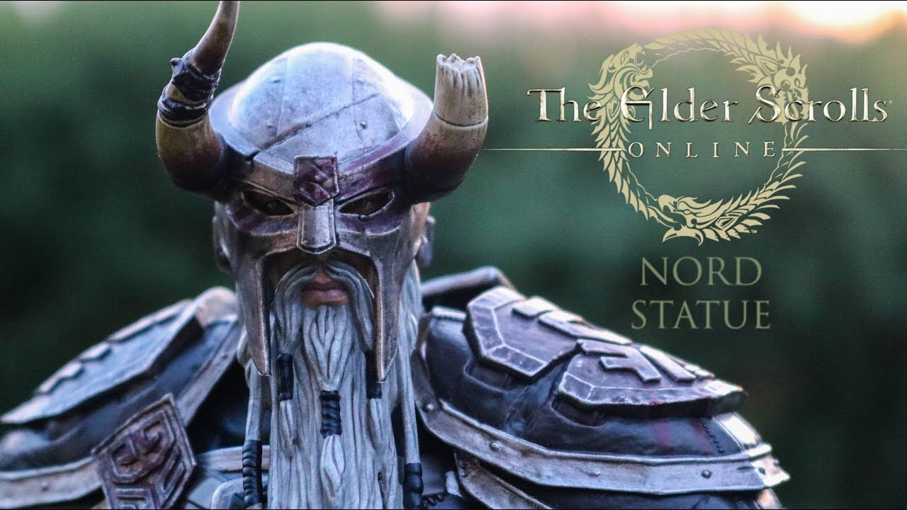 The Elder Scrolls Online Nord statue by Gaming Heads - review