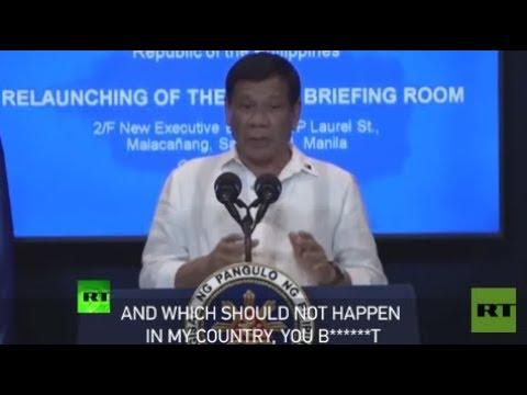Download Youtube: 'You bullsh*t': Duterte threatens to expel EU diplomats from Manila