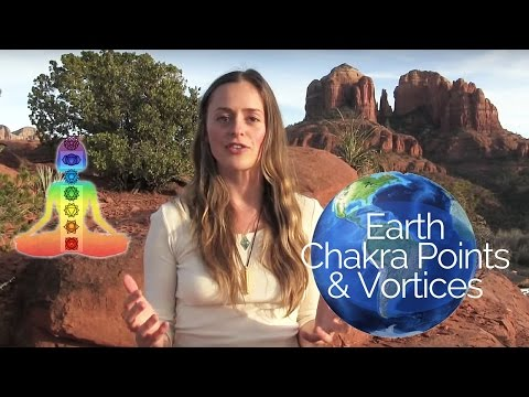 EARTH'S MAJOR CHAKRA POINTS AND VORTEXES | LOCATIONS OF FIRST ET CONTACT