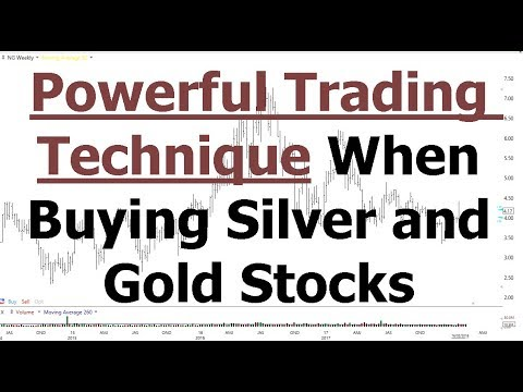 Powerful Trading Technique When Buying Silver and Gold Stocks