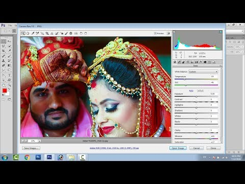 Camera Raw Photoshop Cs6, Camera Raw Filter Editing