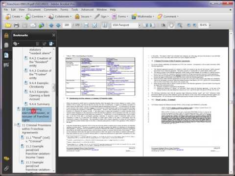 Using SEDM Adobe Acrobat Documents:  Acrobat 9.x