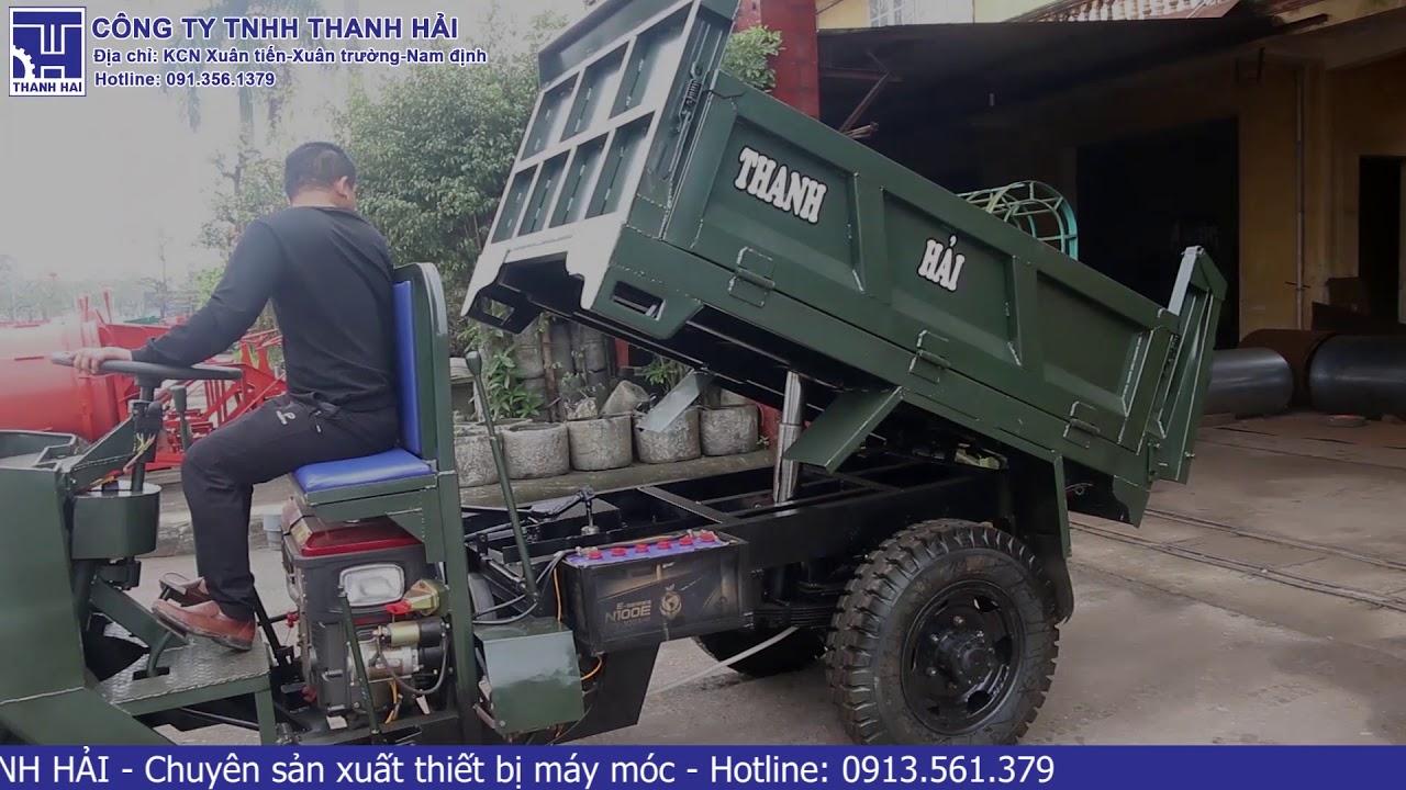 Xe Ba Bánh máy dầu D24 Mã Lực UY TÍN-CHẤT LƯỢNG-BẢO HÀNH