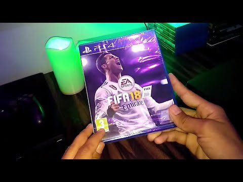 FIFA 18  Unboxing And Gameplay For Ps4 In Hindi India
