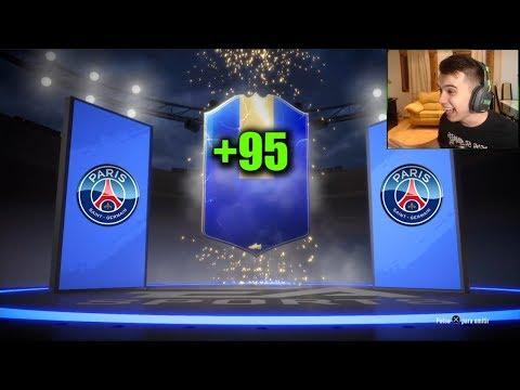 ¡SACO TOTS +95 LIGUE 1 MIS RECOMPENSAS ÉLITE 3! - FIFA 19