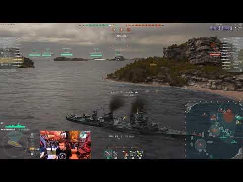 World Of Warships - EPIC Pensacola Game + Critical Error + Total Brainfart GAMESCOM 2019