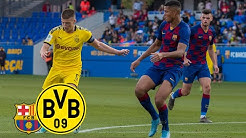 Reyna & Raschl turn the match around! | FC Barcelona U19 - BVB U19 1:2 | UEFA Youth League