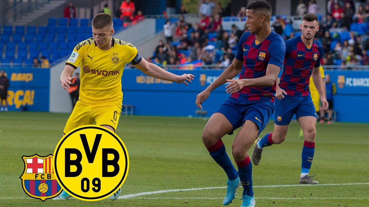Reyna & Raschl drehen erneut das Spiel! | FC Barcelona-U19 – BVB-U19 1:2 | UEFA Youth League