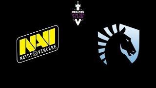 Navi vs Liquid Grand Final MegaFon Winter Clash Highlights Dota 2
