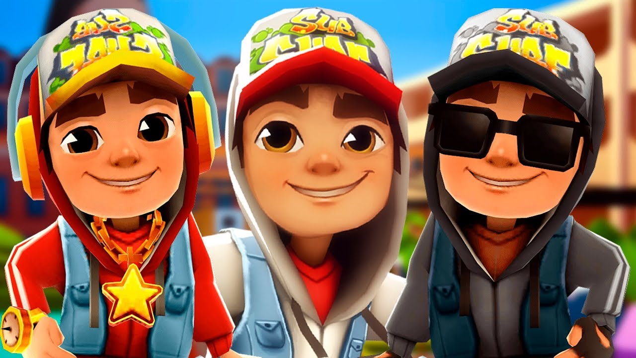 SUBWAY SURFERS - BUENOS AIRES 2018 JAKE+STAR OUTFIT+DARK ...