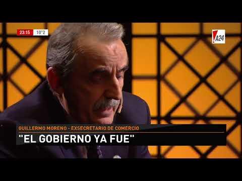 LNE   LUIS NOVARESIO ENTREVISTA - GUILLERMO MORENO