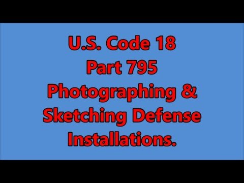U.S. Code 18 Part 795 =Broken down in plain english.