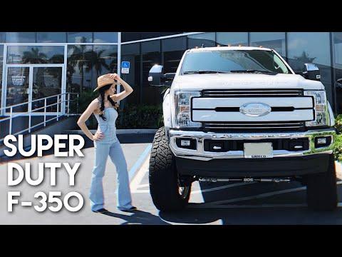Conheça a Ford SUPER DUTY F-350 2019 vendida nos EUA
