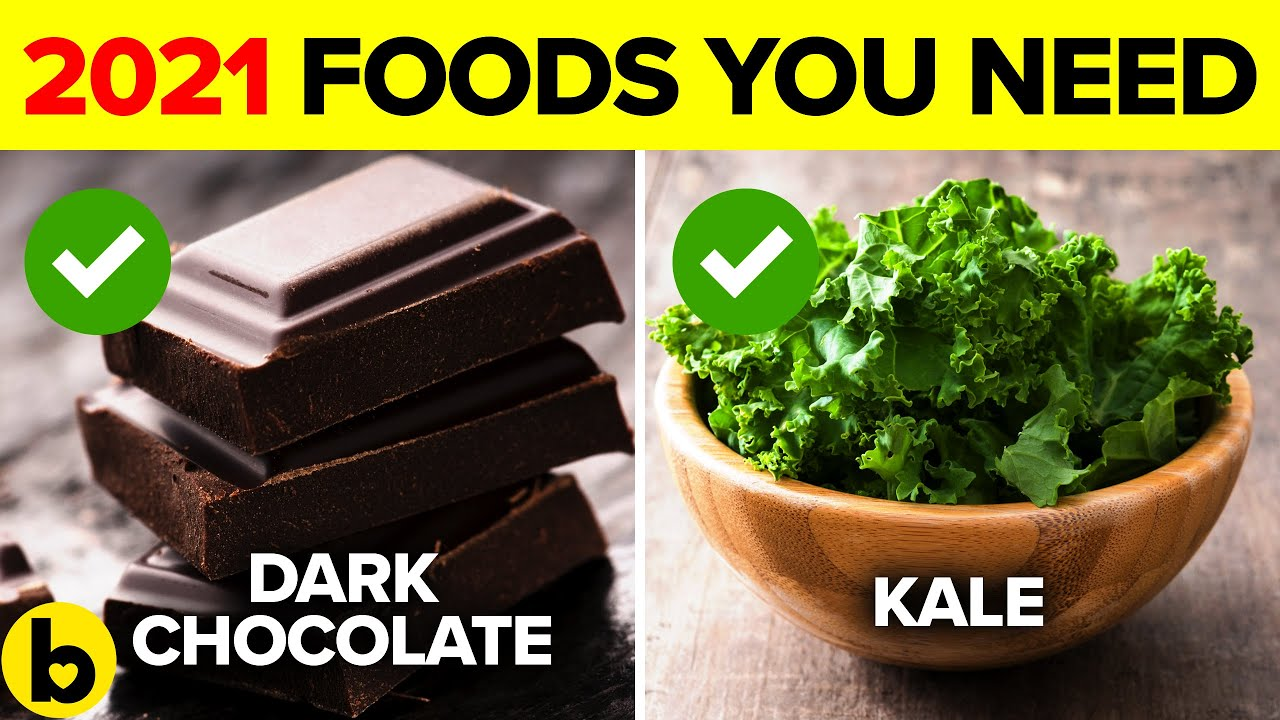 8 Healthy Foods you need to stock up on for 2021