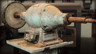 1950s Italian Bench Grinder / Buffer Restoration
