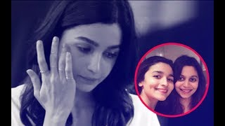 Alia Bhatt Cries And Says,