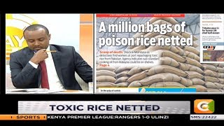 Million bags of poisoned rice netted in Mombasa #DayBreak