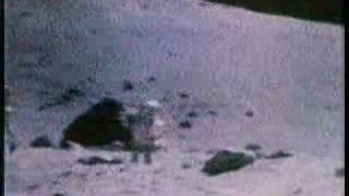 Apollo 17 astronauts singing on the moon