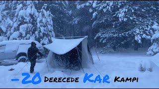 -20 Derecede Kar Kampı   Kar Fırtınasına Yakalandık