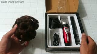 Mở hộp tông đơ cắt tóc Jichen JC-0817 công suất 3W