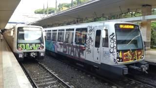 ローマ地下鉄B線ピラミデ駅 Rome Metro Line B Piramide Station