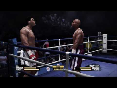 Muhammad Ali Vs Evander Holyfield Outboxer Boxer Puncher Youtube