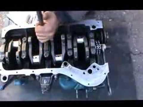 Сборка двигателя ВАЗ.